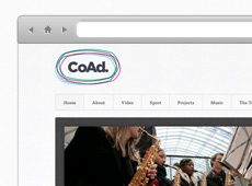 CoAd Charity Website