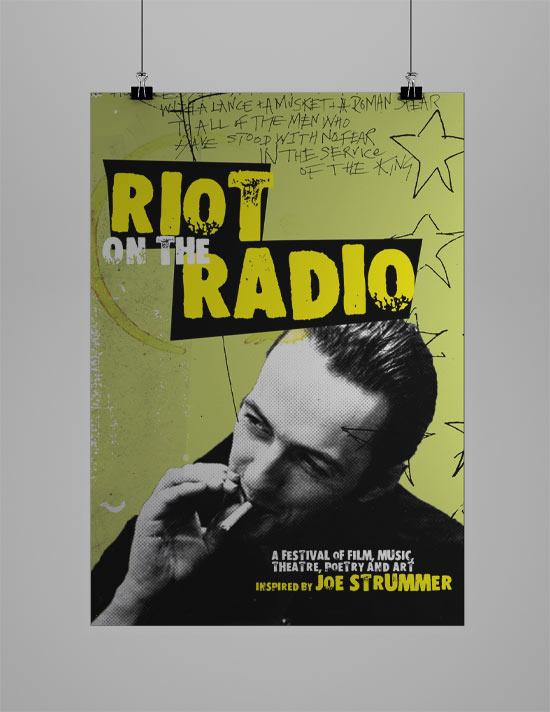 Strummer Event Poster